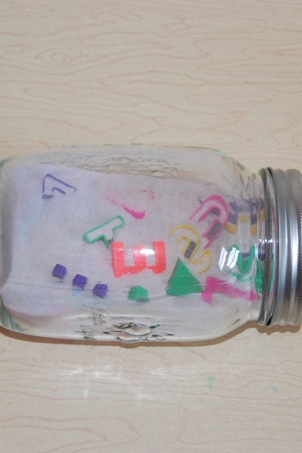 Rainbow Salt Discovery Jars
