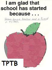 Apple Mosaic Crafts and Apple Theme Math for Preschool and Kindergarten!