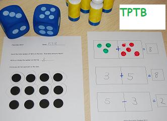 Domino Math for Preschool