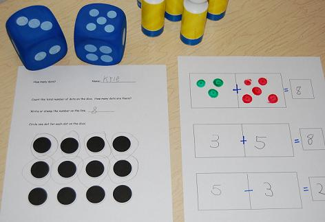 Counting Dot Marks