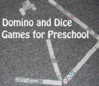 Domino and Dice Games for Preschool and Kindergarten