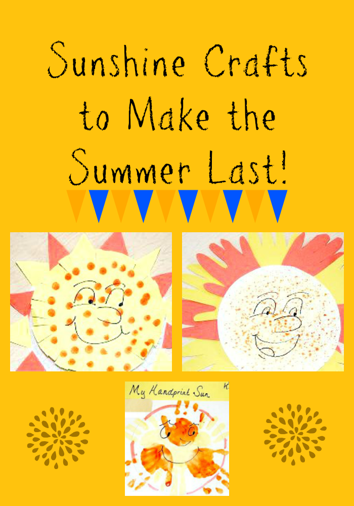 Sunshine Crafts for Summer FUN