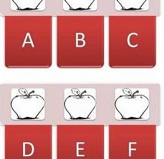 Apple Printable Alphabet