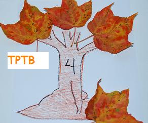fall leaves for a preschool math activity the preschool toolbox blog