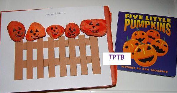Jack-o-Lanterns and 5 Little Pumpkins