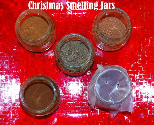 Christmas Smelling Jars