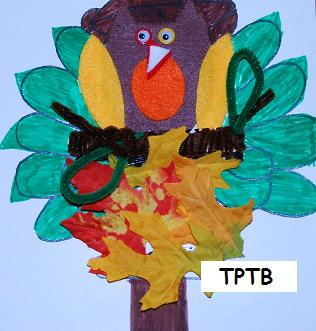 Thanksgiving Theme Math and Crafts!