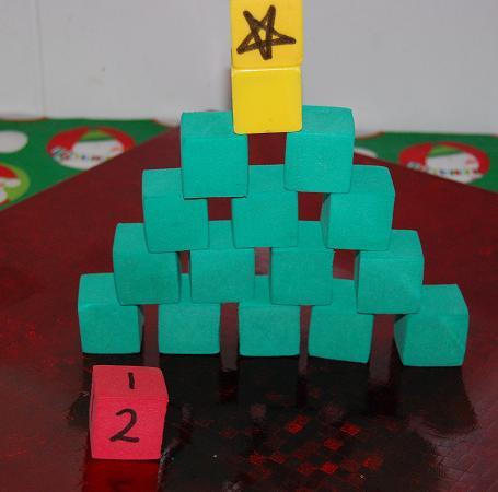 Christmas Math Activity for Preschool