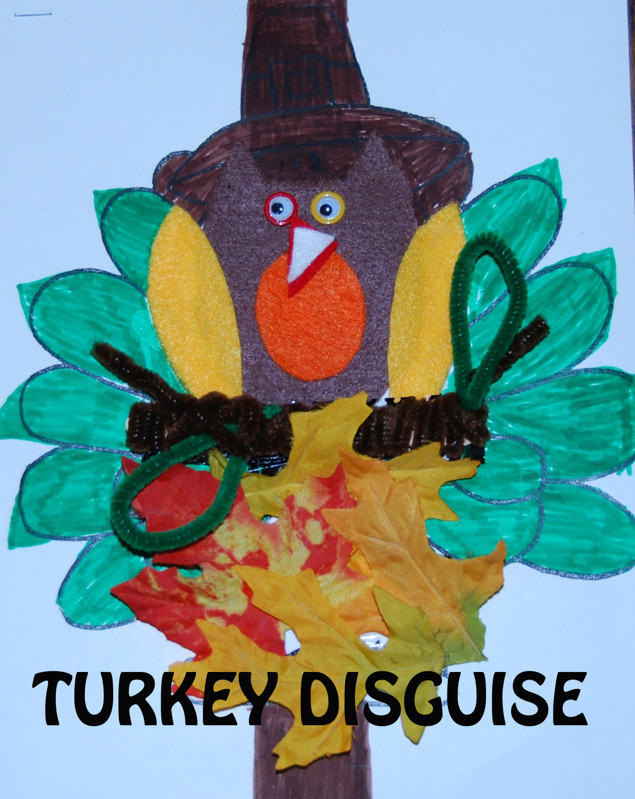 Thanksgiving Theme Math And Crafts