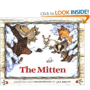 "Extension Activities for ""The Mitten"" by Jan Brett"