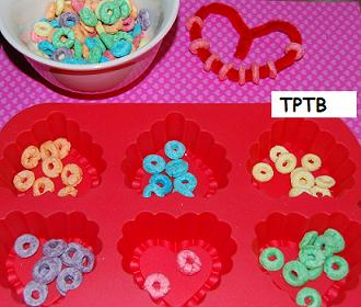 Valentine 39 s day activities for preschool food craft math for Food crafts for preschoolers