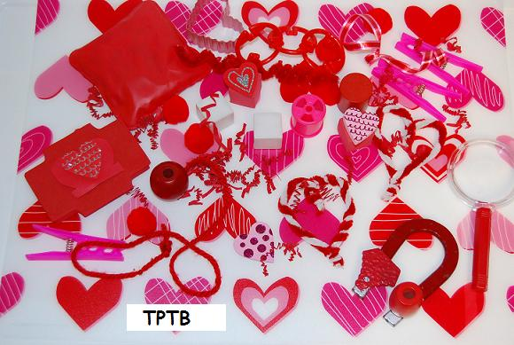 Valentine's Day Crafts and Sensory Mats for Preschool!