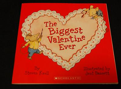 """Extension Activities for """"The Biggest Valentine Ever"""" by Steven Kroll"""