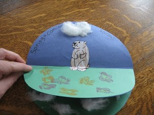 Groundhog Craft