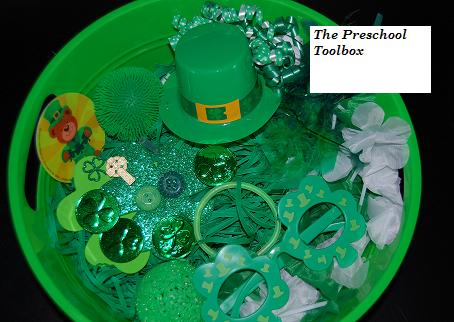 four leaf clover art preschool