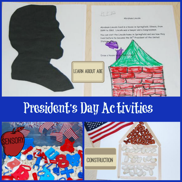 Presidents Day Activities for Preschool and Kindergarten