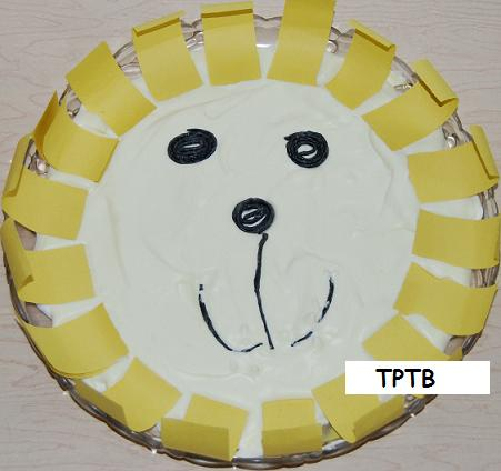 Sping Weather Puffy Paint Lion Craft The Preschool Toolbox Blog