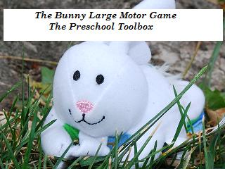 Easter Egg Roll and Color, Bunny Action Game, and More Activites for Preschool!