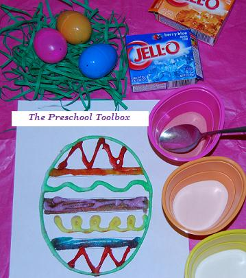 Easter Crafts for Preschool:  Sensory Scented Easter Eggs, Bunny Pops, and More!