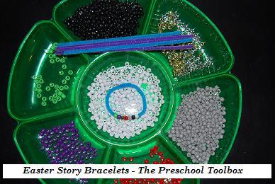 Easter Story Bracelet Craft for Kids!