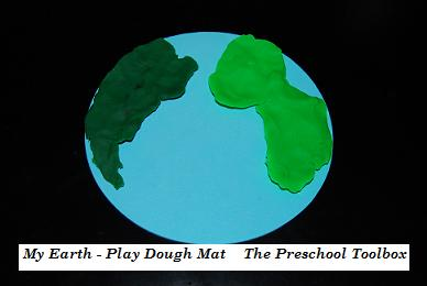 Puffy Paint Earth, Wikki Stix© Earth Layers, and a Play Dough Mat for Kids!