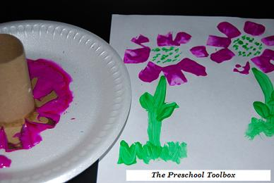 Mother s day food and flower crafts the preschool for Mothers day art for preschoolers