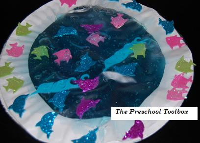 Summer Activities for Preschool: Ice Cream Math & Paper Plate Aquariums