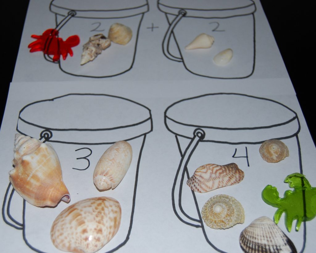 Sand Pail Counting