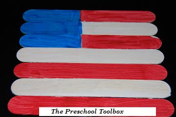 Memorial Day Craft Stick Flag Puzzles 002 on 5 Senses Worksheets For Preschool Education Com