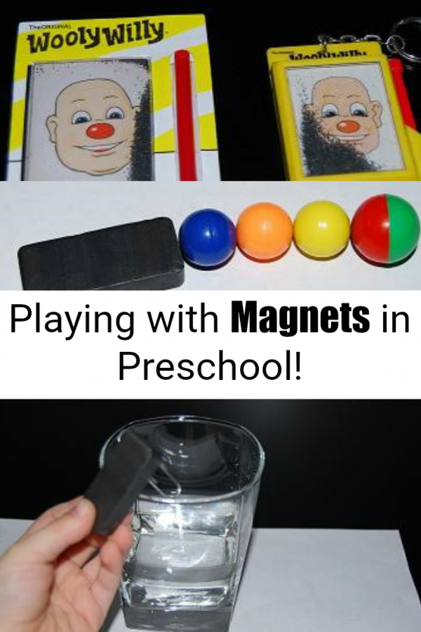 Magnet Experiments and Games for Preschoolers!