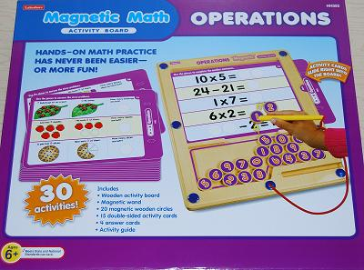 Review – Magnetic Math Operations Activity Board by Lakeshore