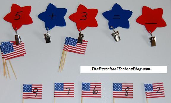 8 Patriotic Theme Activities for Preschool and Kindergarten!