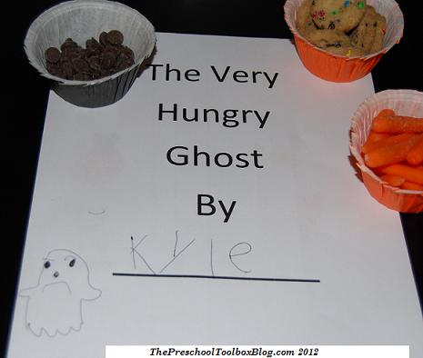 """""""The Very Hungry Ghost"""" Literacy for Preschool and Kindergarten"""