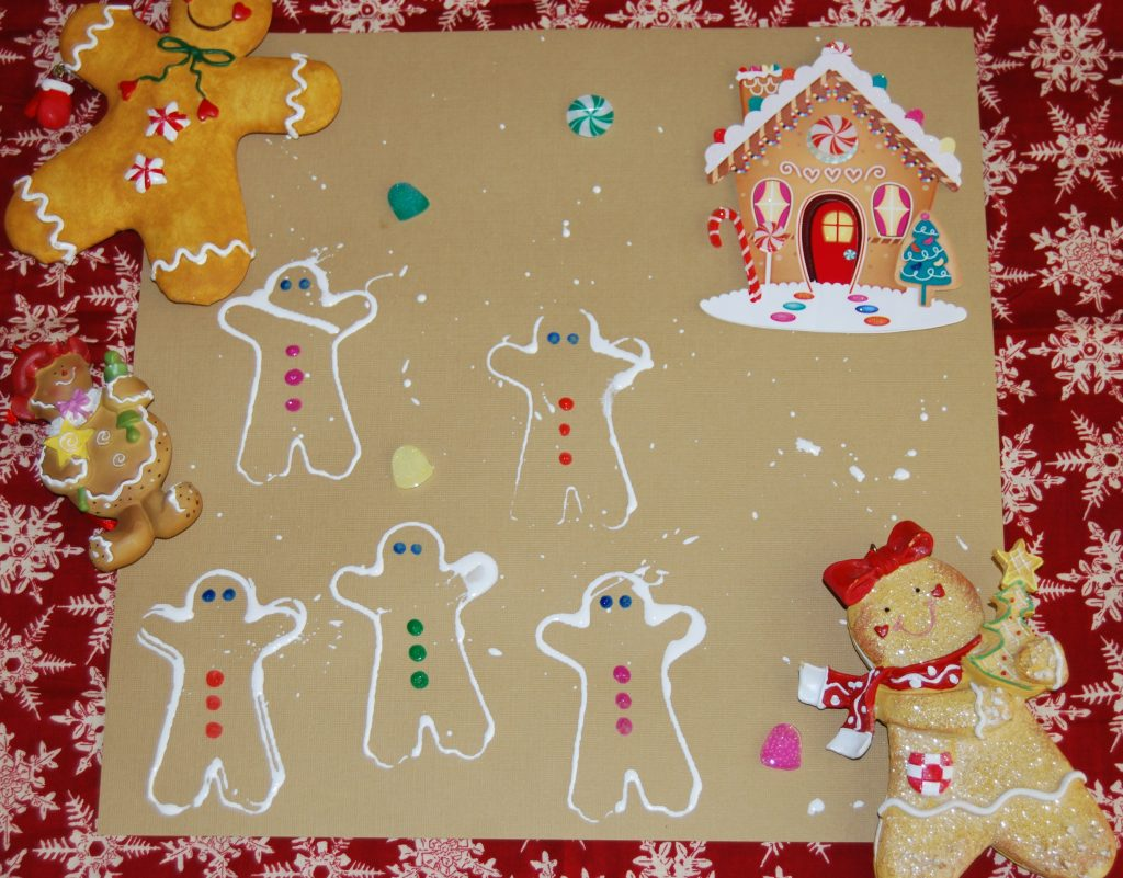 Gingerbread theme activities for preschool and kindergarten for Gingerbread crafts for kindergarten