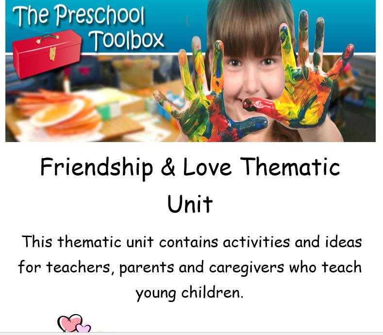 Valentine's Day Theme for Preschool