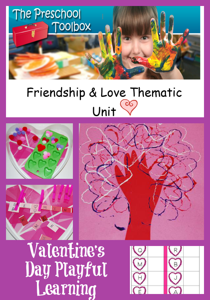 Valentine S Day Crafts And Activities For Preschoolers The Preschool Toolbox Blog