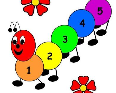 Caterpillar Counting Game The Preschool Toolbox Blog