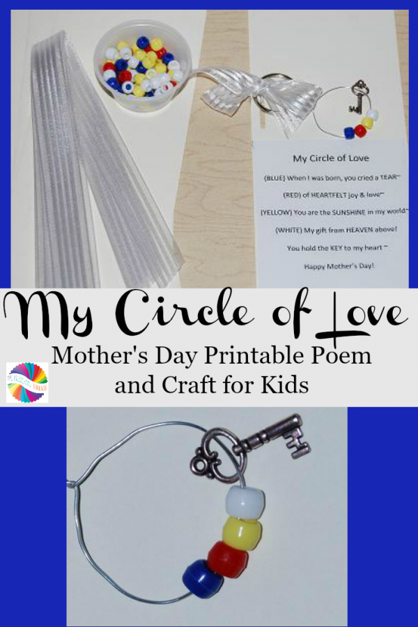"My ""Circle of Love"" – Poem and Craft for Mother's Day!"