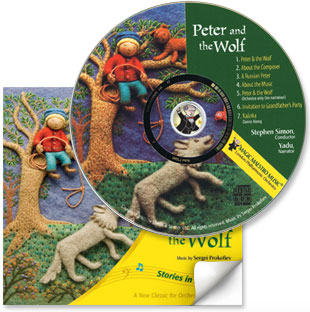 "Introducing Prokofiev's ""Peter and the Wolf"" to Young Kids!"