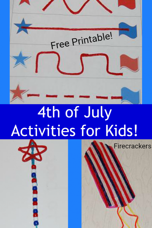 Patriotic Activities for Kids to Celebrate the 4th of July!