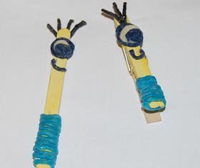 Minion clothespin and craft stick crafts the preschool for Minion clothespins