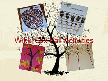 {Sponsored} Trees & Leaves Theme Fall Learning with #Wikkistix!