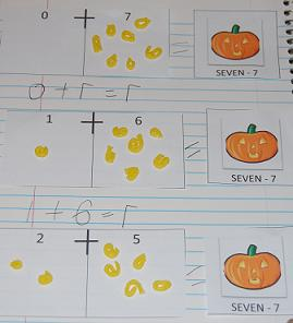 Decomposing Numbers and Math Journals | The Preschool Toolbox Blog