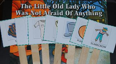 The Little Old Lady Who Was Not Afraid of Anything – Sequencing Cards & Activity Suggestions