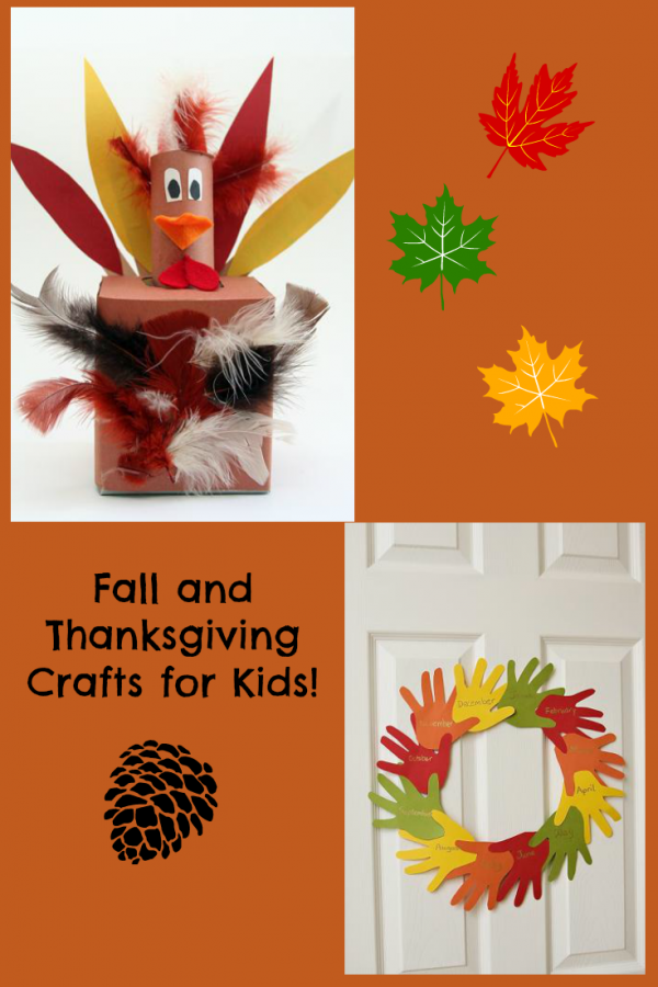 Fall and Thanksgiving Crafts and Activities for Kids!