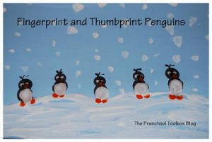 Fingerprint and Thumbprint Penguins