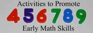 Activities to Promote Early Math Skills