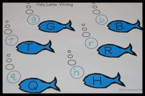 Fishy Letter Writing