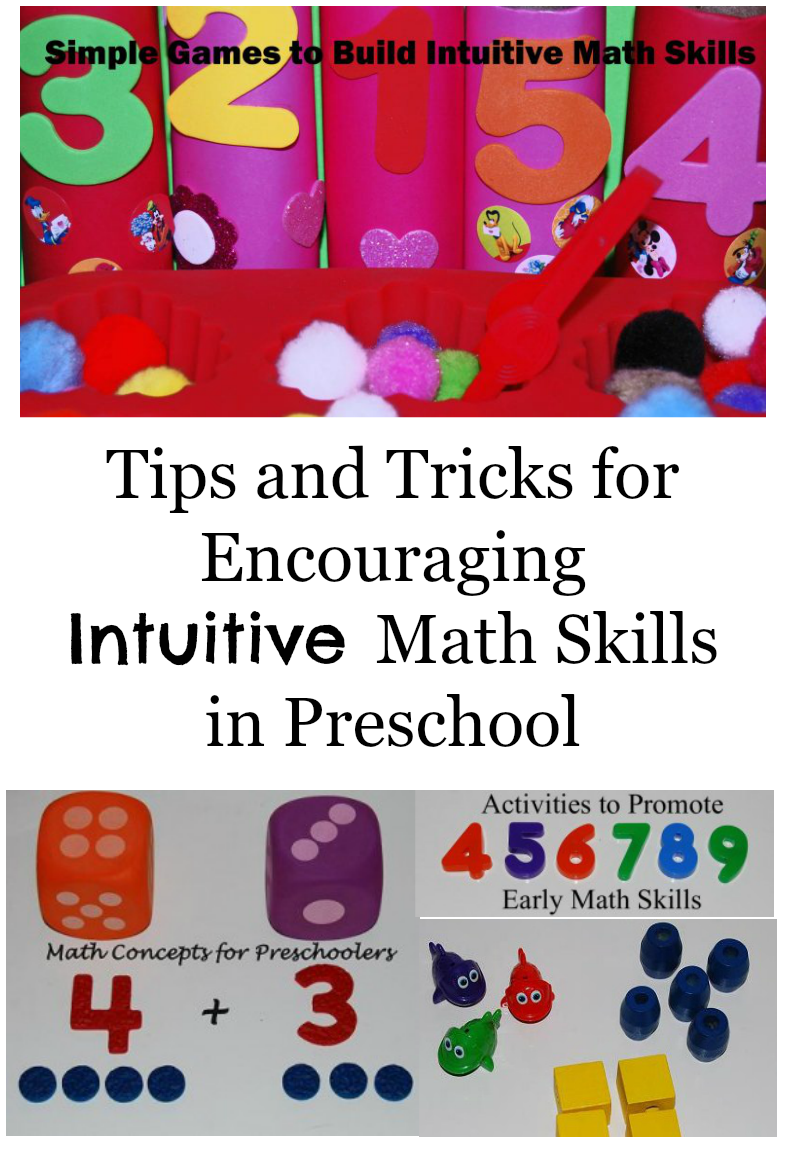 Intuitive Math: 1-to-1 Correspondence & Subitizing - Numbers {Part One}