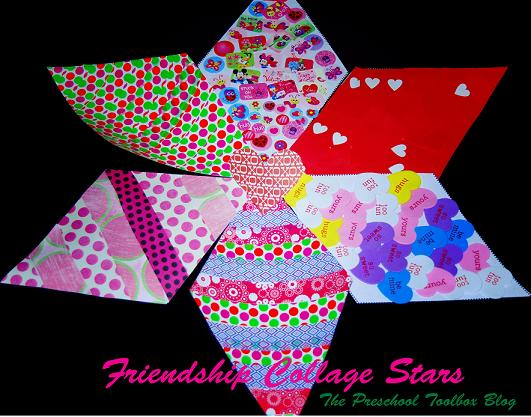 The Shape of My Heart by Mark Sperring – Creating a Friendship Star with Kids!